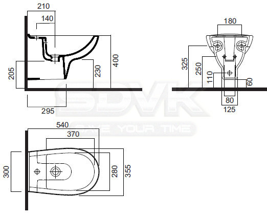Биде AM PM Sense подвесное 40х35,5. Биде AM PM Sense подвесное 40х35,5 с доставкой.
