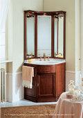 Eurodesign Il borgo Деревянная мебель для ванной комнаты в угол, композиция 9 - магазин интернет сантехника