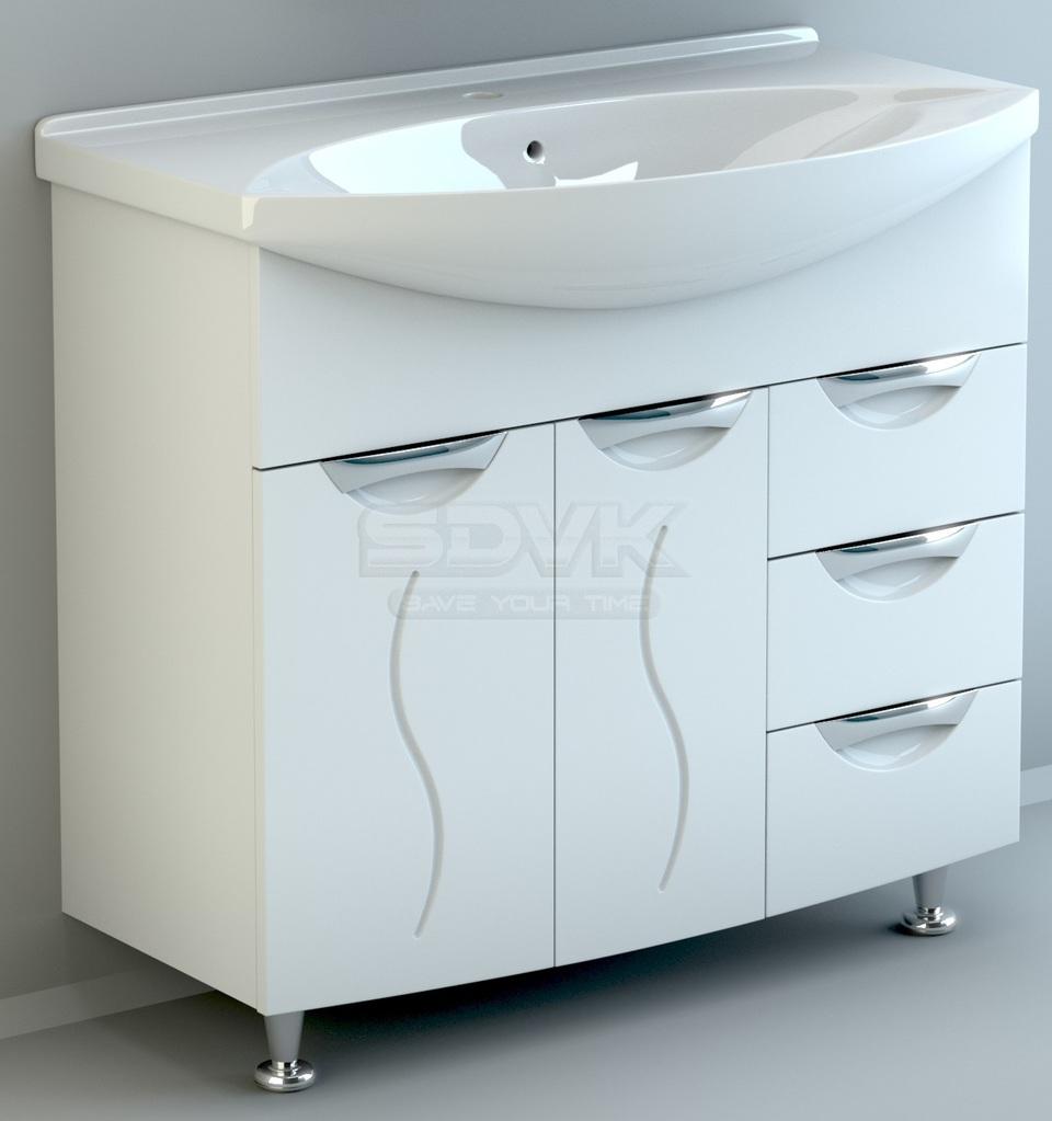 Мебель для ванной комнаты палермо 105