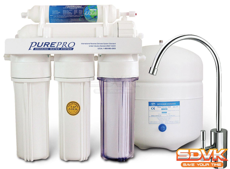 Все виды фильтров для воды
