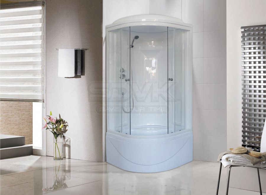 Фото Душевая кабина Royal Bath RB 90BK1-T